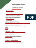Preguntas Conductismo COMPLETO