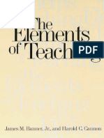 Banner, Cannon - The Elements of Teaching, Yale,1997.pdf
