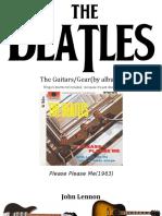 The Beatles Gear & Guitars(by Album)