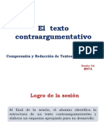 9A-ZZ04 El texto contraargumentativo 2017-3 (diapositivas).ppt