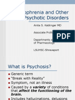 Psychoses