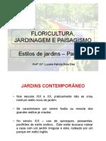 PAISAGISMO- Aula 03 - Jardins Parte 02 -