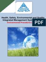 Environmental Procedures