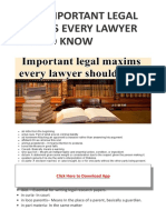 Most Important Legal Maxims Every Lawyer Should Know – My Blog