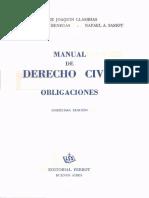 Llambias Benegas Sassot - Manual de Derecho Civil Y Obligaciones