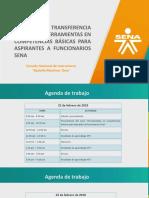 TRANSFERENCIA FORMADORES