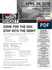 Own The Night Shoot Flyer