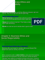 Chapter 3 Business Ethics and Social Resposibilty