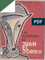 Serafin-j-garcia-las Aventuras de Juan El Zorro