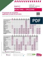 Orléans-Vierzon-Limoges (23 avril)