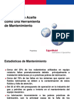 El Analisis de Aceite Como Una Herramienta de Mtto.