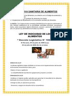 NORMATIVA SANITARIA DE ALIMENTOS.docx