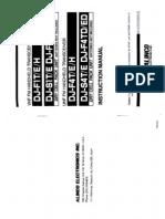 Alinco DJ-F1T S1T F4T S4T Instruction Manual
