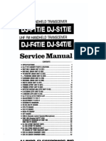 Alinco DJ-F1T S1T F4T S4T Serrvice Manual