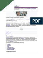 Escuela Peripatética (Historia y Origen)