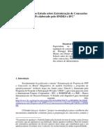 COntribuicoes Ao Estudo Estruturacao de Concessoes E PPPs