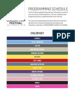 TCM Classic Film Festival Pocket Guide 2018