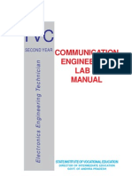 Communication Engg Lab