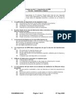 Examen03_Sanitización e Higiene