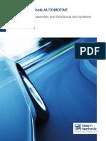 Teamtechnik Automotive Range Brochure En