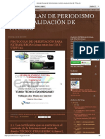 832 862 Plan de Periodismo Curso Validación de Títulos Espanhol