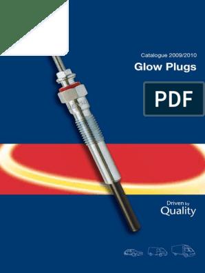 5x pour VOLKSWAGEN CRAFTER 2.5 TDI 2006-chauffage diesel bougies de préchauffage plug 7V système