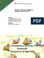 El Comercio y Derecho Comercial
