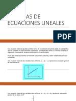 EcuacionLineal SEL