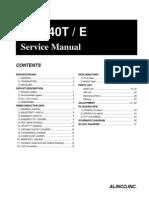 Alinco DJ-S40T Service Manual