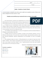 Atividade de Portugues Coerencia e Coesao Textual 9º Ano Resposta