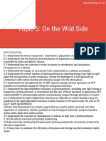 SAMPLE Topic 5 on the Wild Side