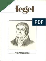 Hegel - Os Pensadores