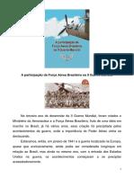 A Participacão da Forca Aérea Brasileira Na Segunda Guerra Mundial
