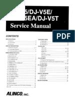 Alinco DJ-V5T Service Manual