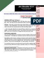 Jim Wendler 5 3 1 2nd Edition Pdf