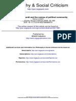 Arendt Nomos Political Community
