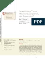 "Introduction to Theme ""Chromatin, Epigenetics, And Transcription"""