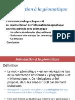 Séance 1 Introduction à La Géomatique Et Image Numérique 17 18