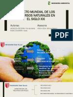 Impacto Mundial de Los Recursos Naturales en El