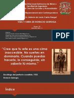 Presentación Horacio Quiroga