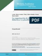 La Organización de La Tarea Didáctica-La Planificación_Lorda_Prieto_Kraser