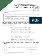 Ficha Letra h