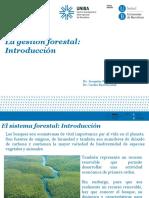 Tema 1.1 El Sistema Forestal Introducción