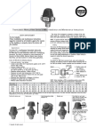 Thermostatic Mixing Valve Series 30 MR Installation and Maintenance Instructions