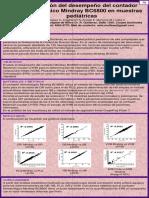 78 Evaluación Del Desempeño Del Contador Hematológico Mindray BC6800 en Muestras Pediátricas