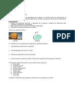 Taller 1 de Quimica 8 - UTILIZANDO INFORMACION PUBLICADA