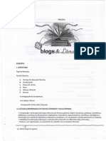 Scaner Blogs y Literatura