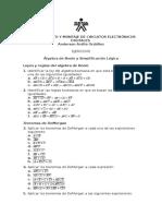 Boolean Algebra-Logic Simplification