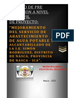 Perfil Agua y Des. i. e. Simon Rodriguez