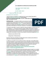 Manifestaciones Clínicas y Diagnóstico de Disfunción Del Esfínter de Oddi
